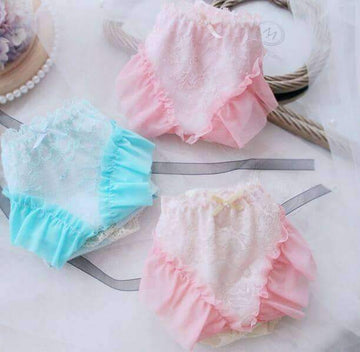 [leggycozy] Princess Kawaii Fairy Big Ruffle Panties