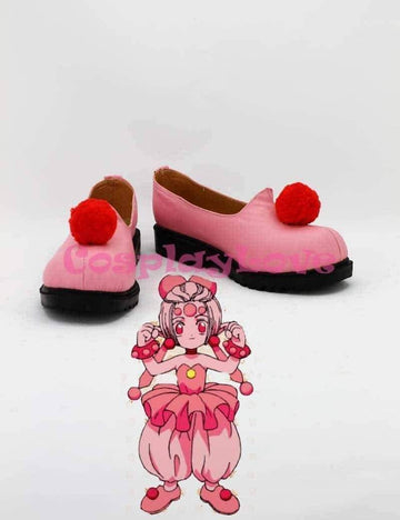 [leggycozy] Cardcaptor Sakura Cute Pink Hand Made Cosplay Boots Anime Shoes