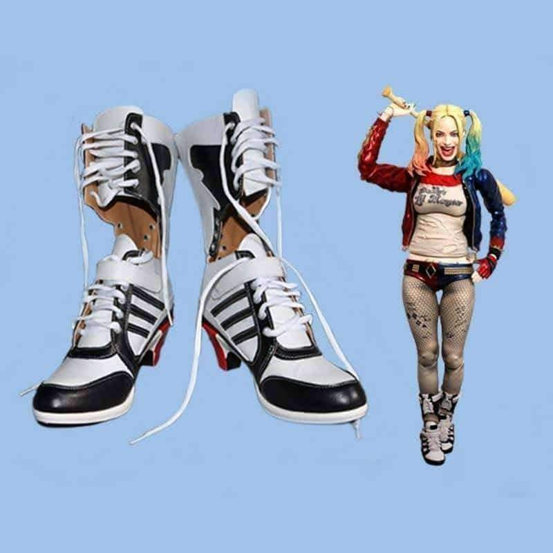 [leggycozy] High Quality Suicide Squad Cosplay Anime Shoes
