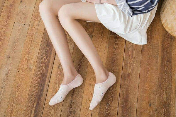 leggycozy socks [leggycozy] Cute Invisible Short Sweat Comfortable Cotton Socks