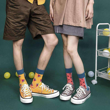 [leggycozy] Unisex Student Casual Fashion Couple Socks