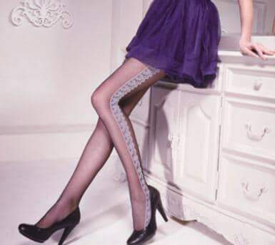 [leggycozy] High Elastic Vintage Lace Sexy Pantyhose Stockings