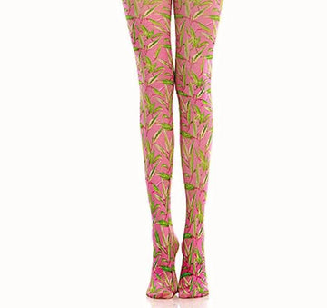 [leggycozy] Premium Classic Geometric Pattern Pantyhose Tights Stockings