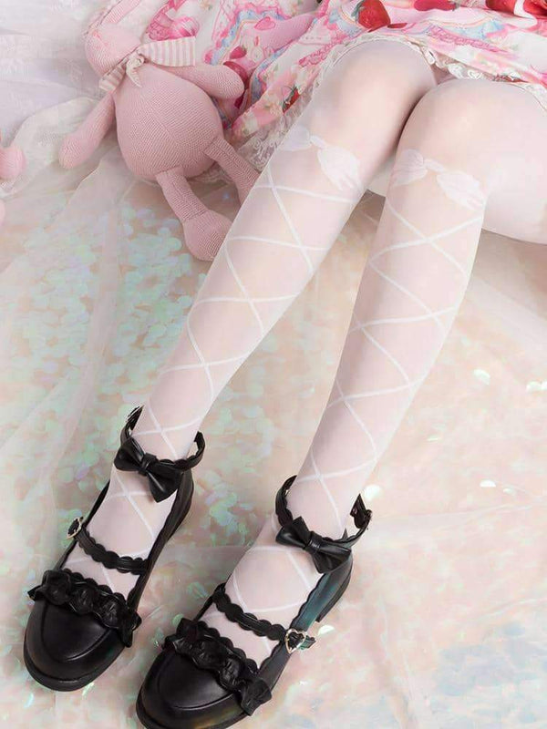 leggycozy Stocking [leggycozy] Princess Butterfly Tie Ballet Slim Pantyhose Stockings