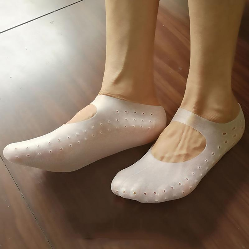 [leggycozy] Functional Protection Silicone Moisturizing Breathable Socks leggycozy