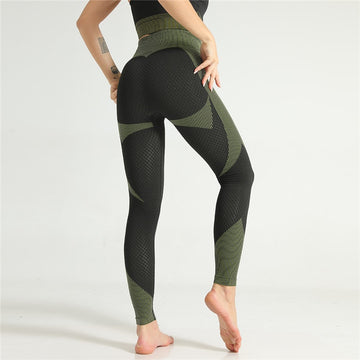 [leggycozy] Sexy Pattern Print High Waist Gym Seamless Leggings