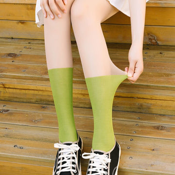 [leggycozy] Korean Idol Kawaii Candy Color Pantyhose Stockings