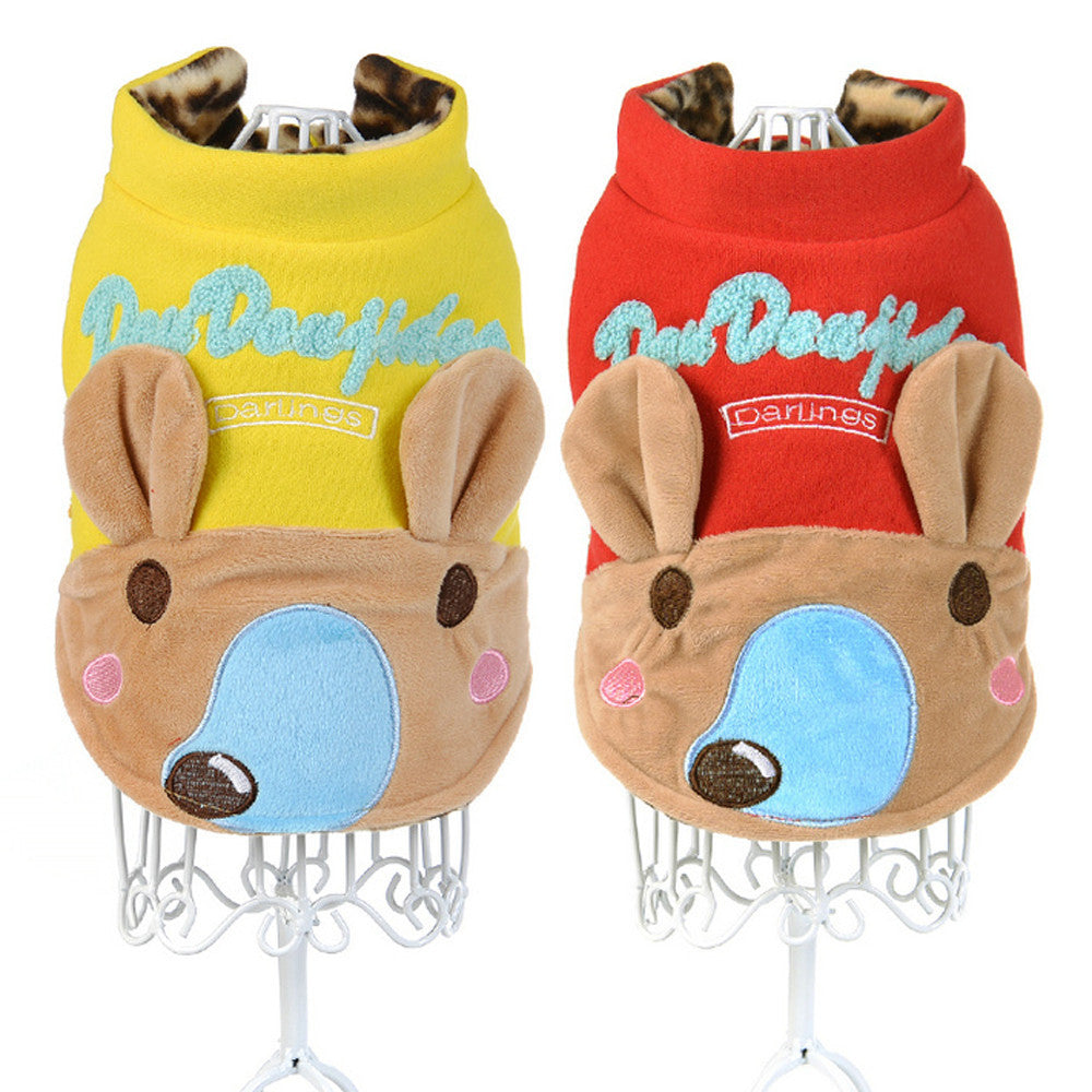 pet dog clothes winter warm dog coat dog winter jumpsuit Pet Products chihuahua puppy roupa de cachorro