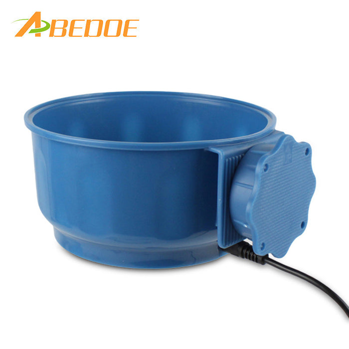 ABEDOE Pet Safe 5V Heated Suspension Water Bowl Heated Pet Feed Cage Bowl for Dogs Feeder Automatic Constant Temperature