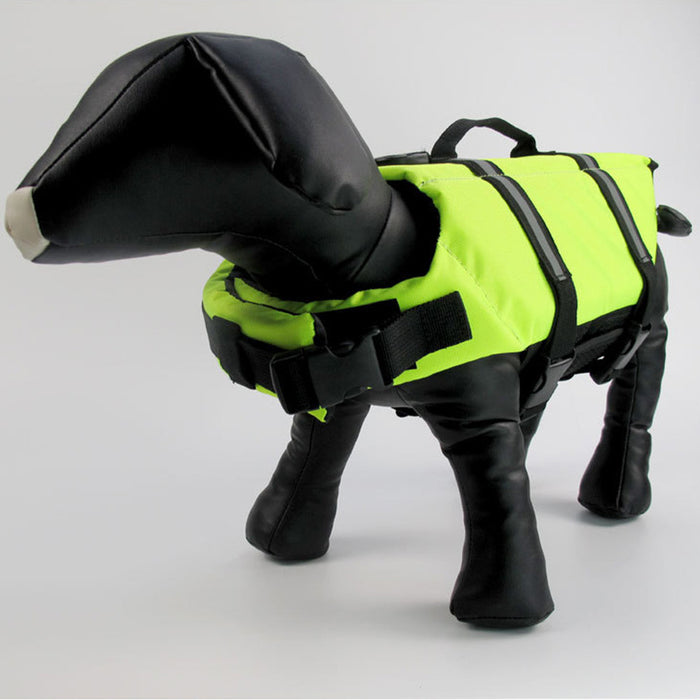 Dog Life Jacket Adjustable Dog Lifesaver Safety Reflective Vest Pet Life Preserver
