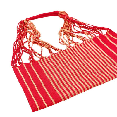AMOR Handmade Hammock Bag - Red