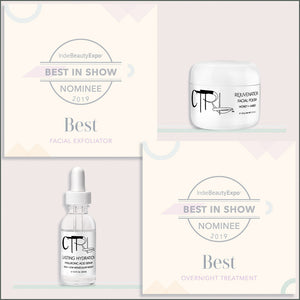 Miami Based Unisex Skincare Brand CTRL Cosmetics Nominated For 2 IBE Best In Show Awards