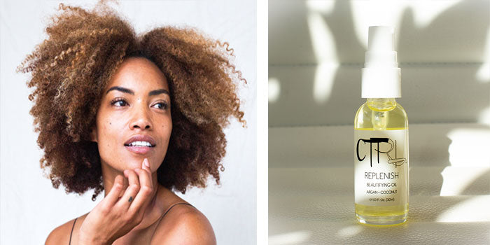 CTRL Cosmetics Replenish Beautifying Oil is a perfect face oil for even sensitive skin.