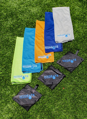 Microfibre Cool Towel for Gym, Outdoors, Hiking and Running