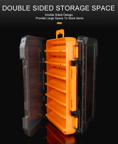 12 to 14 compartments Accessories lure Hook Storage Boxes