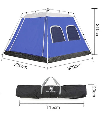 Image of 5-8 Person Automatic Open Tent