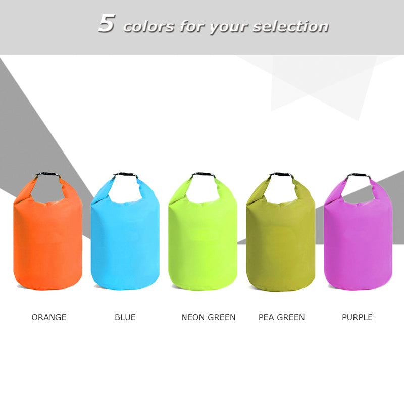 10L or 20LWaterproof Dry Bag Pack for Swimming, Rafting, Kayaking, River Trekking, Sailing, Canoeing, Boating and other Water Activities