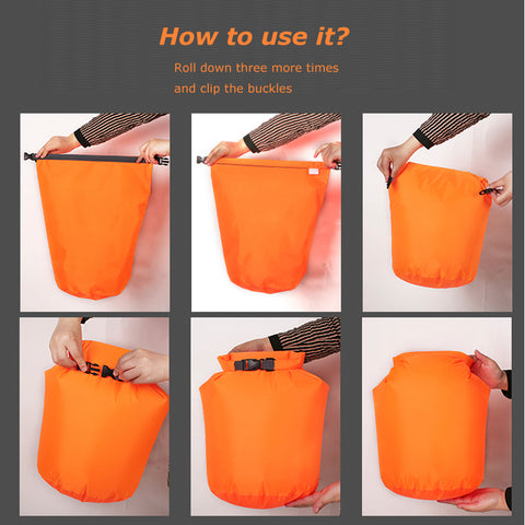Image of 10L or 20LWaterproof Dry Bag Pack for Swimming, Rafting, Kayaking, River Trekking, Sailing, Canoeing, Boating and other Water Activities