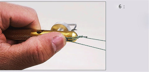 Image of Aluminum Fishing Hook Knotting, Tie Hook Loop Making and Hook Decoupling Remover Carp Tool