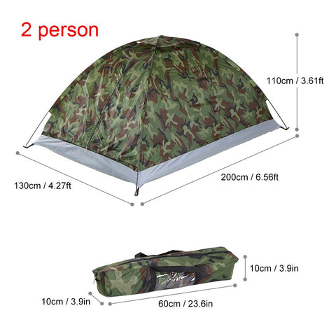 Image of 1-2 Person Camping Tent
