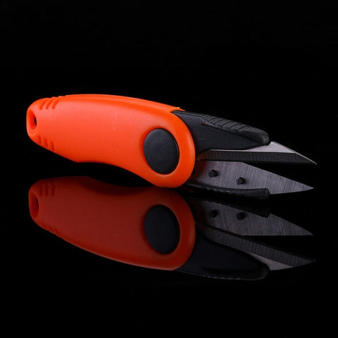 Image of Stainless Steel Folding Scissors For Fishing