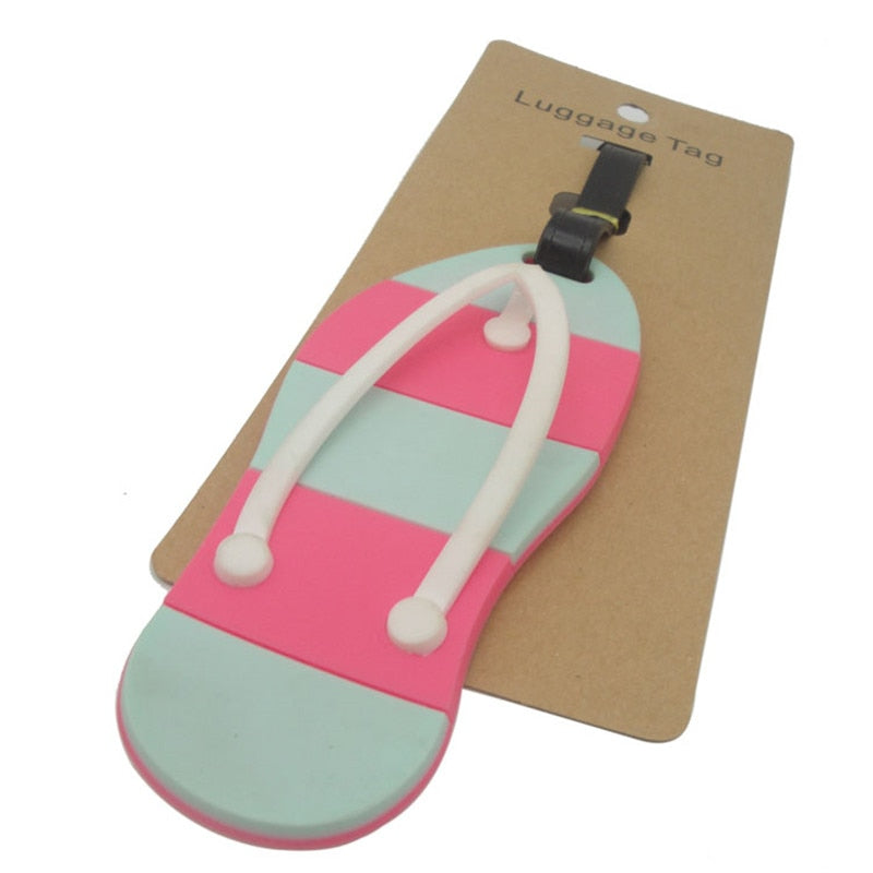 Slipper Luggage Tag