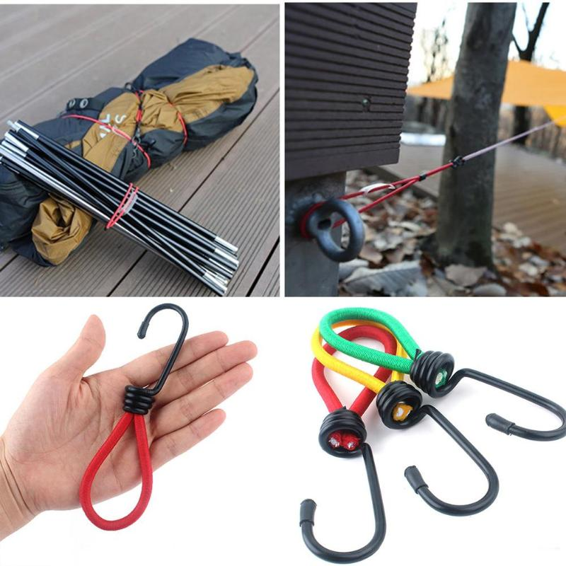 3pcs Outdoor Camping Tent Elastic Bungee Straps
