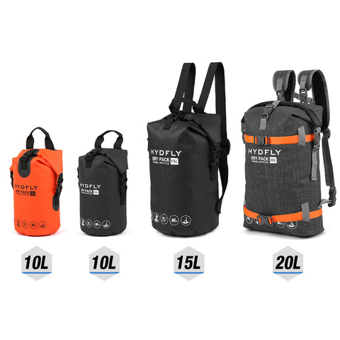 Image of Waterproof Dry Sport Bag. Great for Camping, Trekking, Hiking, Beach and Outdoor Use.