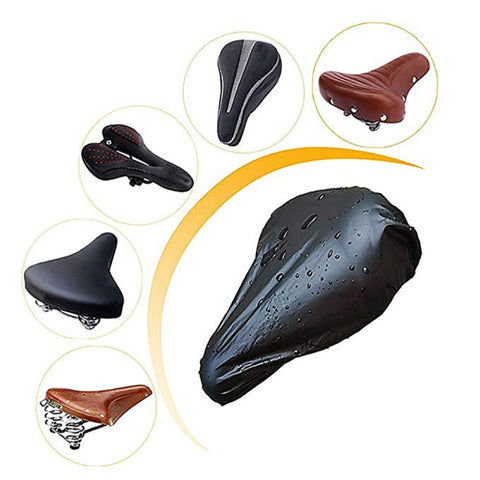 Image of Bike Waterproof UV Protection Saddle Cover