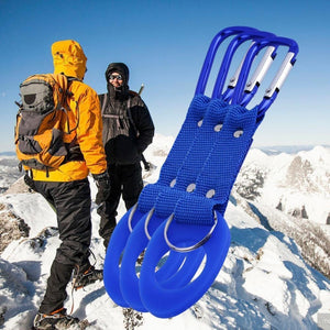 Sports Outdoor Kettle Buckle Carabiner Water Bottle Holder For Camping Hiking
