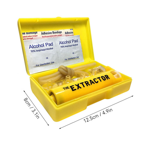 Image of Venom Extractor Outdoor Emergency Snake Insect Bite First Aid Kit