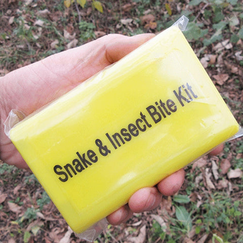 Venom Extractor Outdoor Emergency Snake Insect Bite First Aid Kit