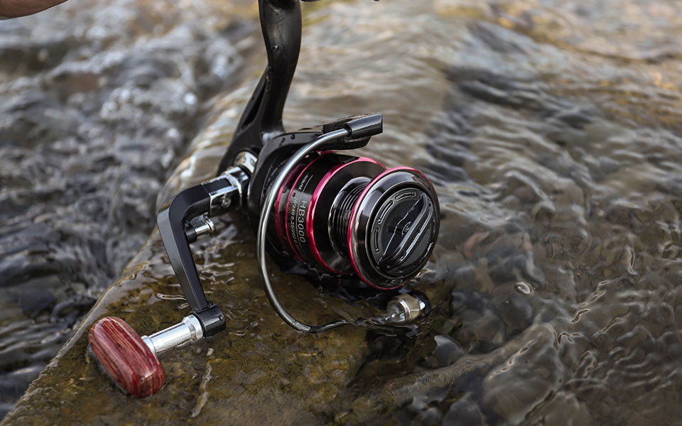Fishing Reel All Metal Spool Spinning Reel 8KG Max Drag Stainless Steel Handle Line Spool Saltwater Fishing Accessories