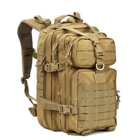 Waterproof, Military Tactical 34L Bagpack. Great Accessory for Hiking, Camping and Hunting - Alpha Four