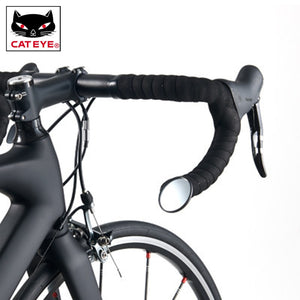 Versatile Bicycle Mirrors For Mountain and Road Bikes.  Installs on Handlebar. - Alpha Four