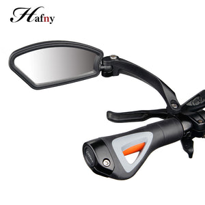 Unbreakable Stainless Steel Lens Cycle Bicycle Mirror. - Alpha Four