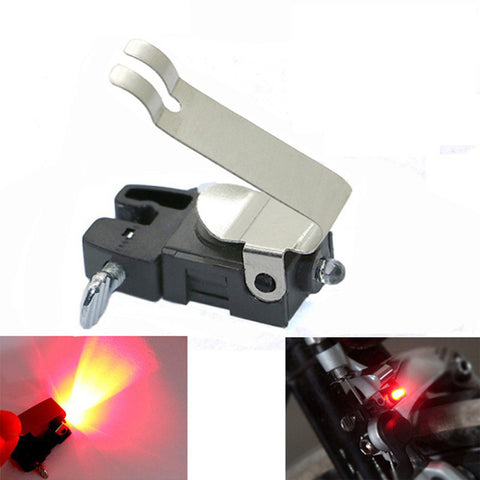 Unique and Small Bicycle Brake light.   Bright LED wit long lasting battery - Alpha Four