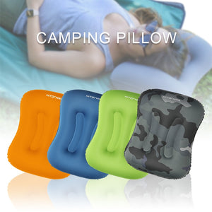 Ultralight Outdoor Sleeping Foldable, Inflatable Pillow. - Alpha Four