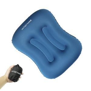 Ultralight Outdoor Sleeping Foldable, Inflatable Pillow.