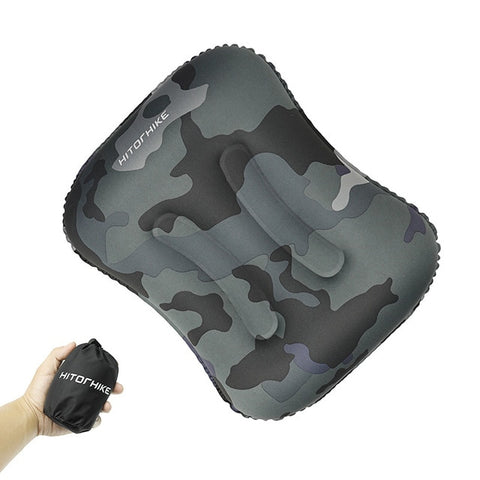 Image of Ultralight Outdoor Sleeping Foldable, Inflatable Pillow. - Alpha Four