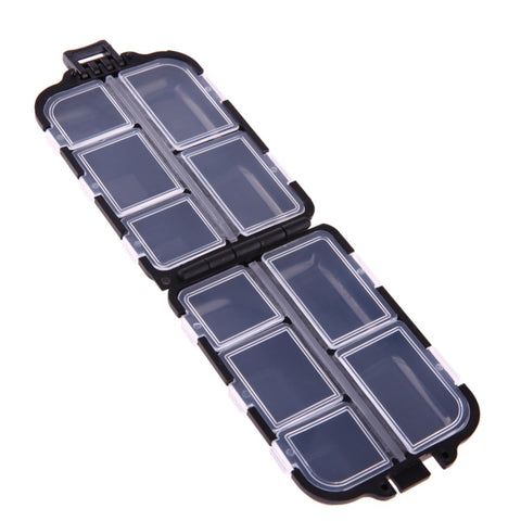 Image of 10 Compartments Mini Fishing Tackle Box For Your Fishing Lures, Hooks and Baits