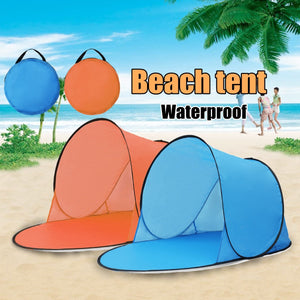 Outdoor Portable Waterproof Camping, Beach Pop Up Tent.