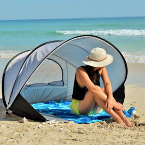 2-3 People Cuick Opening And Quick Opening Sunshade Sunscreen Automatic Outdoor Beach Tent