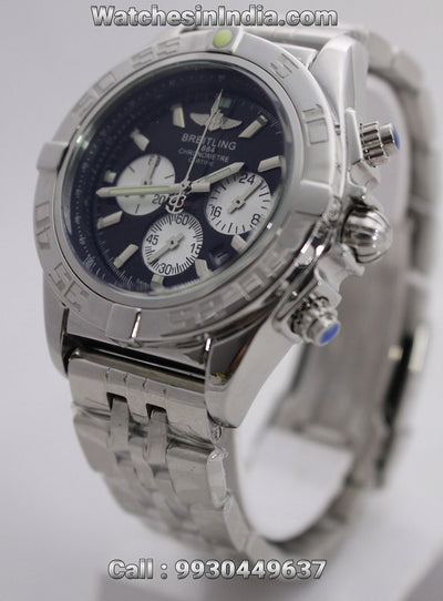 Breitling Chronomat Chronograph Black dial Mens Watch