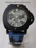 Luminor Panerai Submersible Blue Camo Swiss ETA Automatic Watch