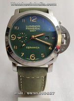 Luminor Panerai GMT Green watch