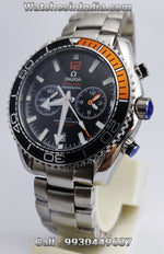 Omega Seamaster Planet Ocean Black and Orange Bezel