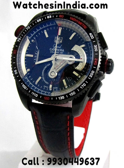 Tag Heuer Grand Carrera Calibre 36 Leather Strap First Copy Watch