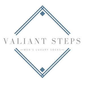 Valiant Steps Sock Company Logo
