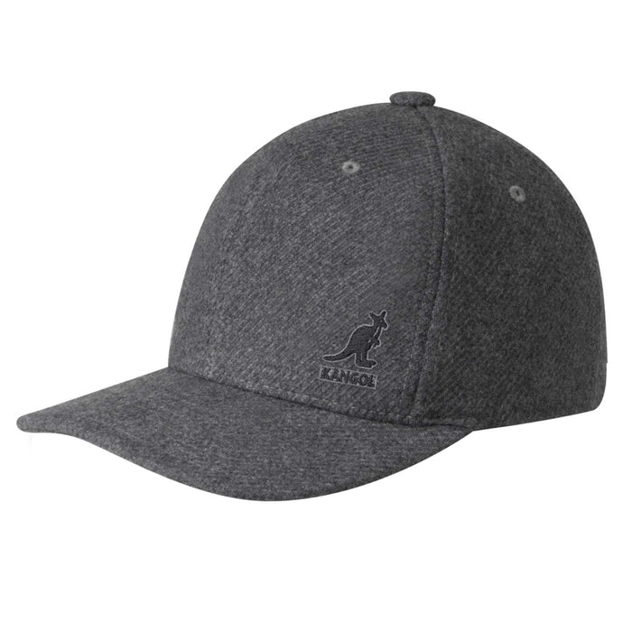 dark grey wool mens baseball hat